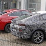 室内画像も入手。BMW X6次期型、現行モデルとツーショットで違いを検証!