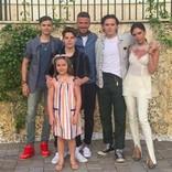 ベッカム家、マイアミでのバケーション写真に「本当に素敵な家族」 羨望の声続出