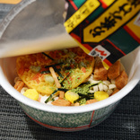 話題の『赤いたぬき』は永谷園の『お茶漬け海苔』で作ると激ウマ! 全身の細胞に美味しさ成分が染み渡る