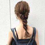 くるりんぱでおしゃれなまとめ髪♡簡単に叶える大人可愛いヘアアレンジ特集
