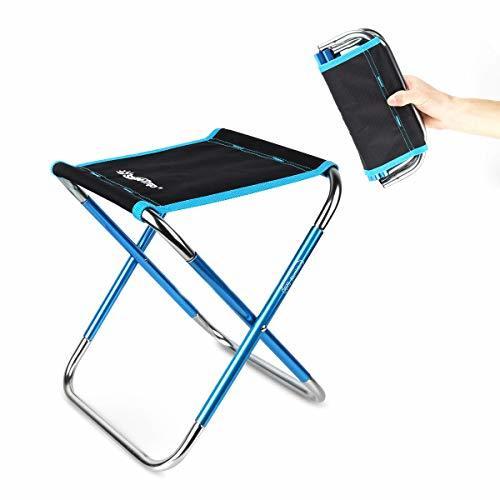 HAOCOO 折りたたみ椅子 アウトドア チェア 軽量 コンパクト 携帯 椅子 キャンプ イス 折りたたみイス【耐荷重100kg】 持ち運び お釣り 登山 携帯便利 超軽量収納袋付き