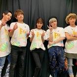 AAA與真司郎、メンバー5人の記念ショット公開に反響「嬉しすぎる」
