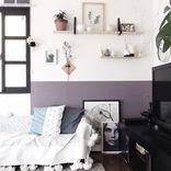 色や素材で印象がガラッと変わる!ソファのある素敵な《リビングインテリア》