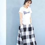 ギンガムチェックスカートの大人コーデ特集♡甘すぎないきれいめスタイルに挑戦しよう