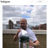 ジェイソン・ステイサムも参戦 ボトルキャップチャレンジが流行の兆し