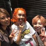 野沢直子、帰国後すぐにヘアサロンへ オレンジヘアが好評も「一瞬りゅうちぇるかと…」