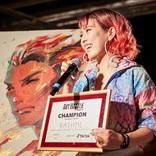 世界50都市以上で開催されているNY発のイベント『ART BATTLE』が開催、 優勝者は25歳グラフィックデザイナー