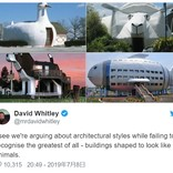 動物の形をした建築物の写真が話題に 世界中から他の写真も続々と集まる