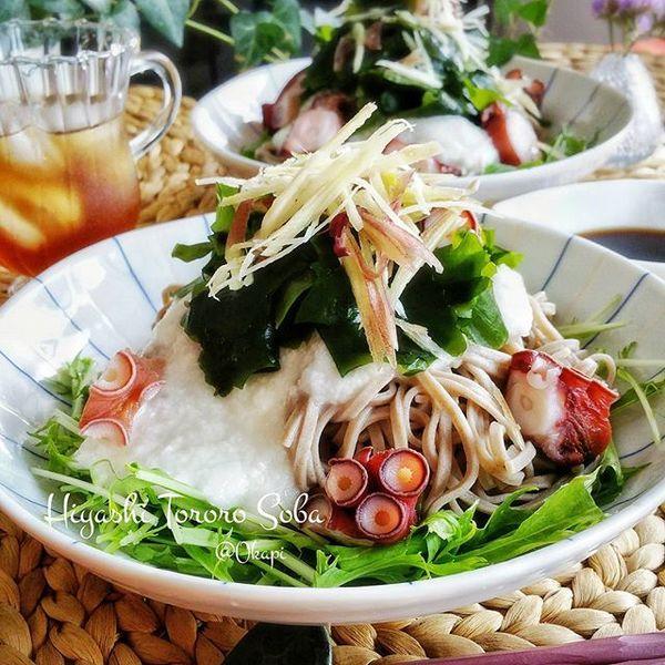 天ぷら 献立 麺類5