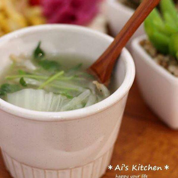 天ぷら 献立 汁物3