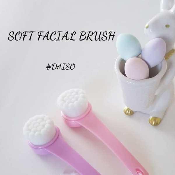 ごくやわ洗顔ブラシ