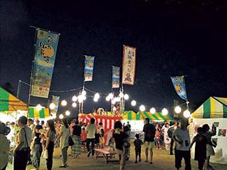 高知城 夏の夜のお城まつり