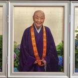 ベッキー肖像画などで話題の画家 中島健太、瀬戸内寂聴氏を描く