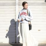 チャンピオンパーカーの大人女子コーデ30選!カジュアル&きれいめに着こなすコツ