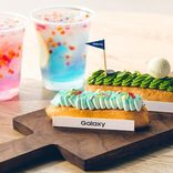 エクレア専門カフェ「Galaxy Cafe」が話題!フォトジェニックな新メニューも登場!【東京】