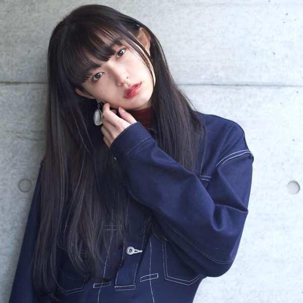ぱっつん ロングヘア32選 大人女子に似合うモードな髪型を一挙ご紹介