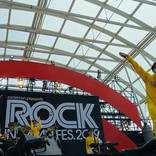 POLYSICS、『ROCK IN JAPAN FES.』ステージで The Vocodersと共に新曲配信開始&アルバムリリースを発表