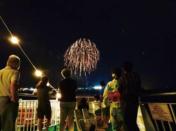 2019桜島納涼観光船