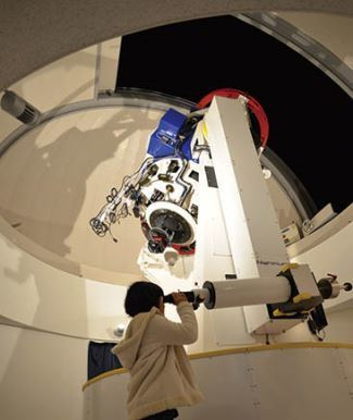星の文化館「夜の星空観測会」