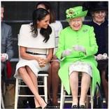 メーガン妃、エリザベス女王に封印されたファッション・アイテムとは?