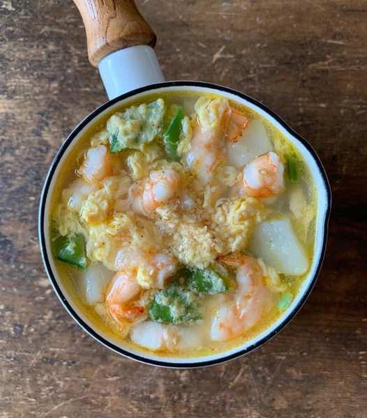 かきたまスープ