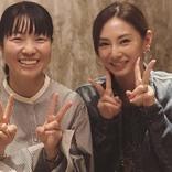 イモトアヤコ、親友の誕生日の祝福を報告 北川景子の胸元に注目集まる