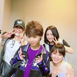 渡辺美奈代、長男在籍の「B2takes!!」ライブを鑑賞!