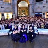 """BREAKERZ 20thシングル「闇夜に舞う青い鳥」リリース記念イベントで""""うぃっしゅ!""""の進化形ポーズ誕生"""