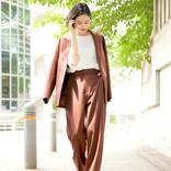 ブラウンパンツの大人女子コーデ特集!トレンドの着こなしをご紹介します♪