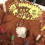 西山茉希、元夫の誕生日に手作りケーキを披露 「ブサイクなケーキ…」