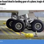 ギニアからの密航者が死亡 車輪格納庫からぶら下がったまま着陸(モロッコ)