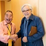 出川哲朗、『男はつらいよ』30年ぶりに出演 メイキング写真公開