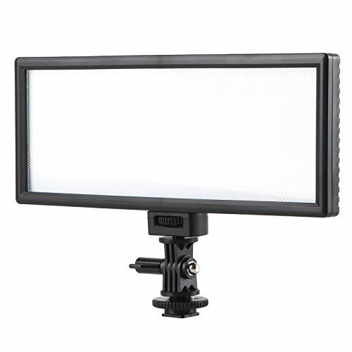 VILTROX L132T LEDビデオライト 撮影ライト 超薄型 写真撮影用補助灯 3300K-5600K 1065LM CRI95+ 商品・人物・動画撮影 一眼レフカメラ対応