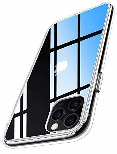 RANVOO iphone 11 pro ケース クリア 耐衝撃 5.8インチ 対応 衝撃吸収 高透明 落下防止テストクリア 米軍MIL規格取得 2019 ガラスフィルム対応 アイフォン カバー カメラ保護 すり傷防止 滑り止め おしゃれ ワイヤレス充電対応 (クリア)