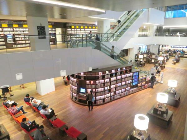 おしゃれな「図書館」大和市立図書館