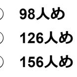 【クイズ】今上天皇は何人めの天皇でしょうか?100人以上な気はするけれど…?