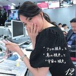 テレビ東京 相内優香アナが撮った『WBS』大江麻理子キャスターがカレンダーに