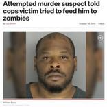 「ゾンビの餌にされそうだったから」女性を殺害しようとした男が逮捕(米)
