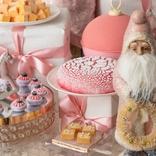 可愛いクリスマスを味わって?!「ラディアント・ローズゴールド」ホリデースイーツビュッフェ開催!