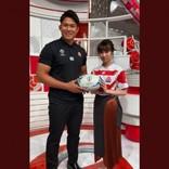 ラグビー日本代表・姫野和樹 亀梨和也のタックルを「初めてにしてはサマになっている」