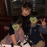 """小倉優子、子供たちとの""""36歳バースデー""""3SHOT公開に反響「素敵な幸せな家族」「いつまでも可愛い」"""