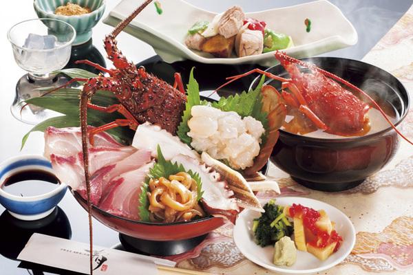 伊勢海老地魚海鮮丼