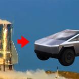 超限定版Cybertruck:爆発したStarship Mk1の鋼板を使ったモデル登場か? #Startruck