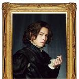 中川晃教、印象的な黒い服をまとったビジュアルが解禁 ミュージカル『チェーザレ 破壊の創造者』