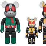 昭和と平成、それぞれ2番目の仮面ライダーがBE@RBRICK化!