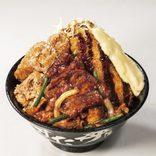 """牛・豚・鶏が""""一丼""""に 年末のスタミナ補給は「伝説のすた丼屋」で"""