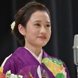 前田敦子、艶やかな着物姿で登場 女優賞受賞に歓喜「映画の世界はたまらない」