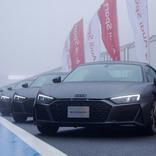 アウディ 10台限定「R8 デセニウム」納車式を富士スピードウェイで開催
