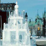 クリスマスイベントの氷像が倒れ2歳児が死亡 何らかの衝撃が加わったか