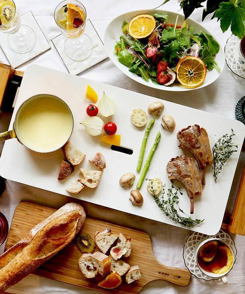 [わたしスタイル] 《PRINCESS/プリンセス》美しすぎる真っ白なホットプレート「Table Grill Pure/テーブルグリルピュア」